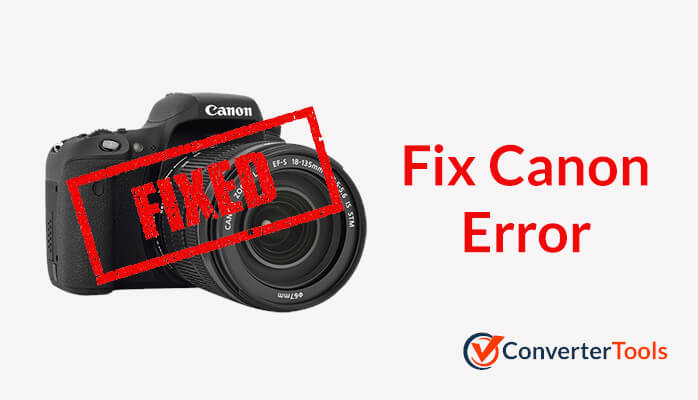 Troubleshoot Canon Error Code.