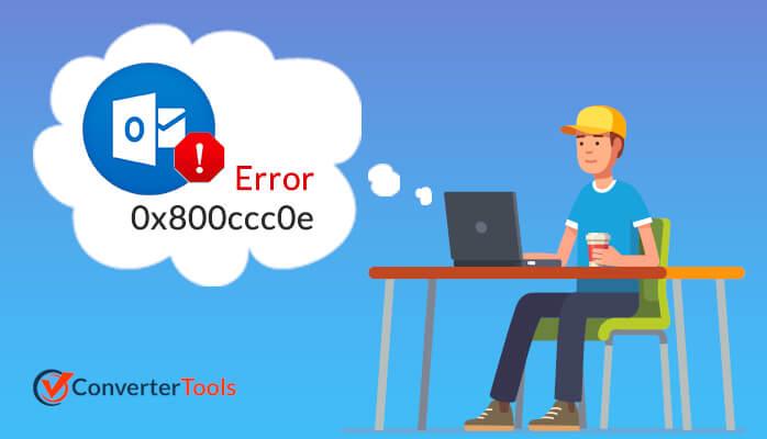 Fix Outlook IMAP error code 0x800ccc0e