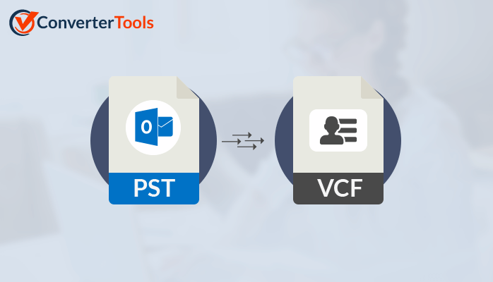 Save PST Contacts to vCard or VCF format.