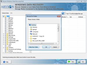 Select the folders and click save to recover and remove You need to format the disk in drive error.