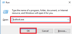outlook the set of folders cannot be opened