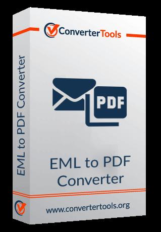 EML to PDF Converter box