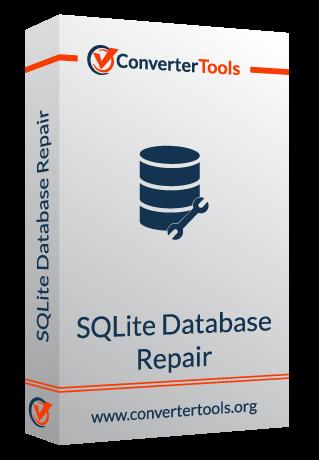 SQLite Database Repair box