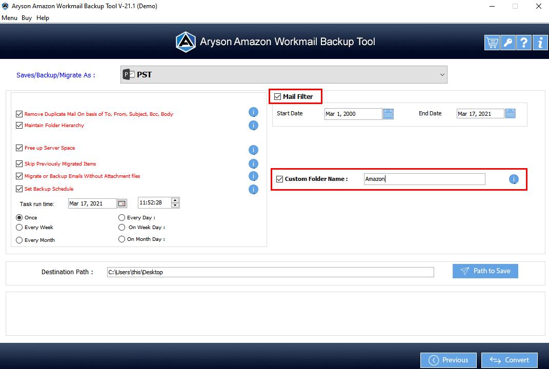 Amazon Mail Converter step-6