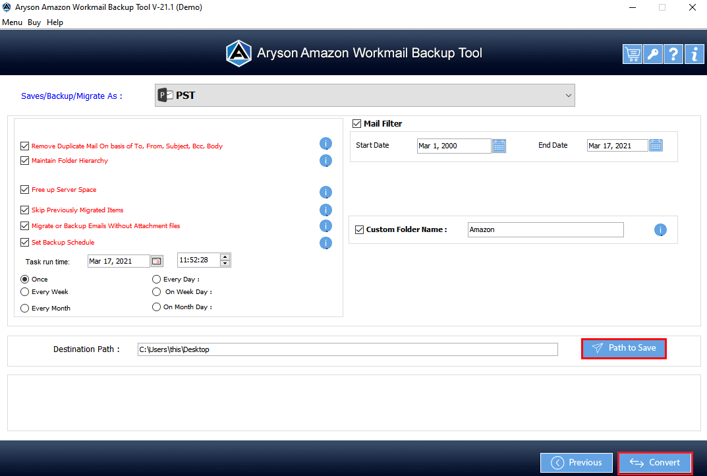 Amazon Mail Converter step-7