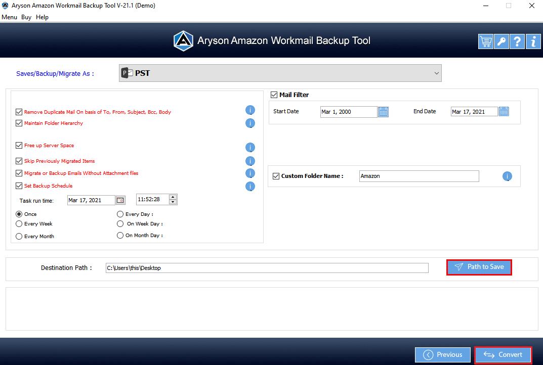 Amazon Mail Converter step-8