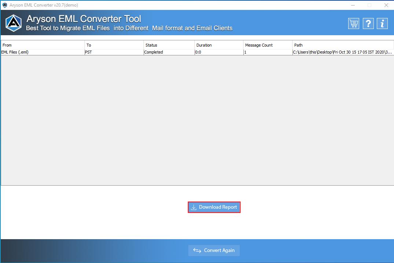 EML File Converter step-8