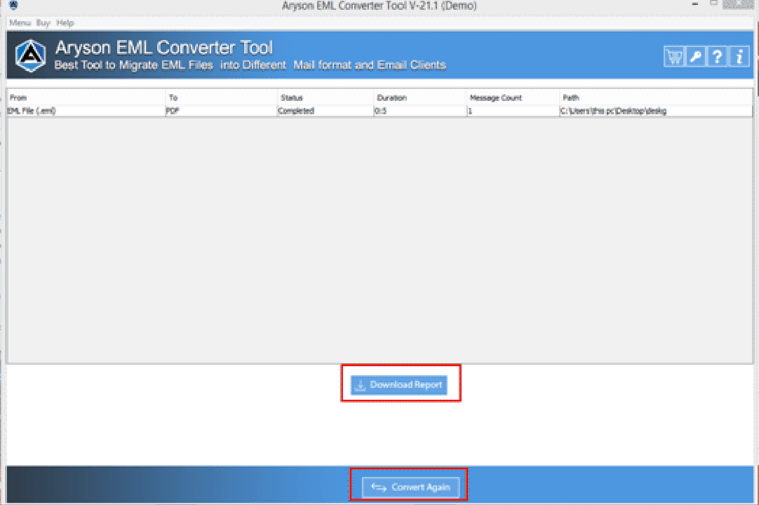 Choose PST File Option and Click on OK button.