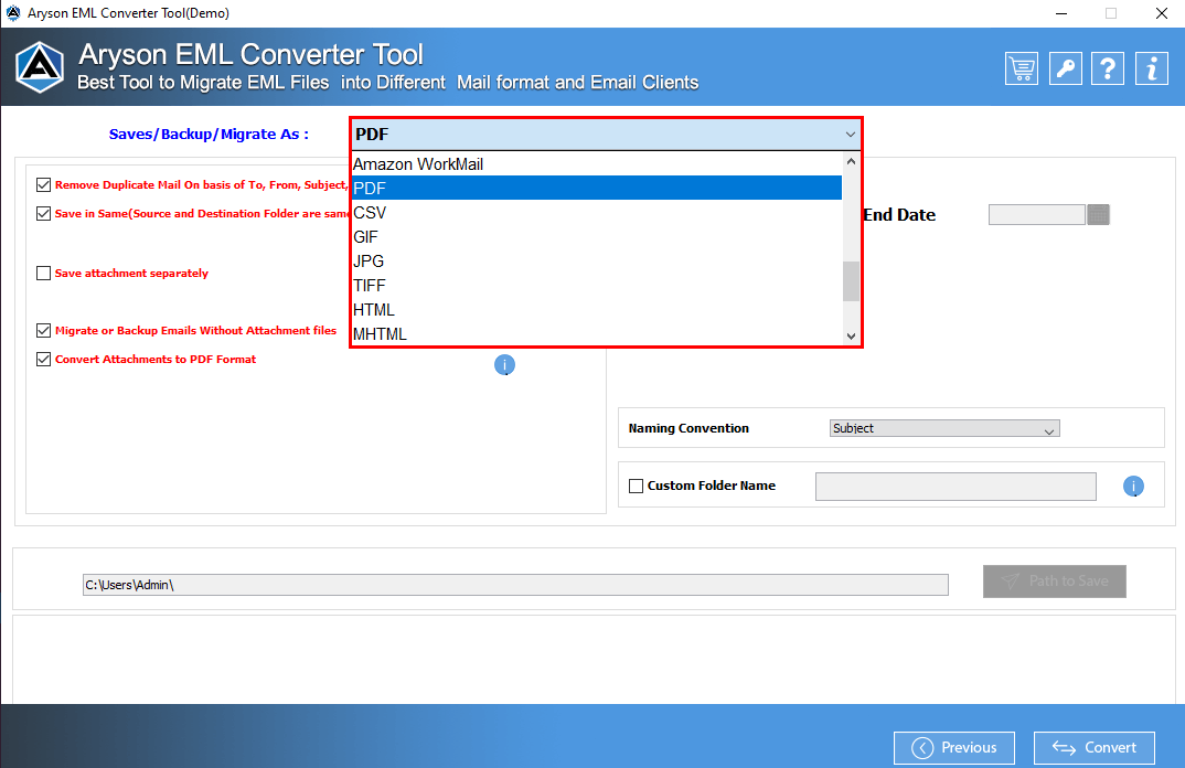 Select Items of OST File and View one by one.