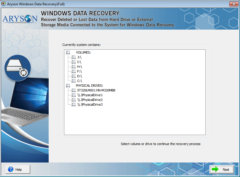 Hard Drive Recovery Software 18.0 full