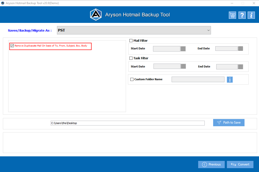 hotmail extractor step-4