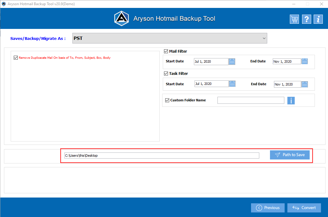hotmail extractor step-7