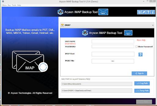IMAP to IMAP Converter step-1