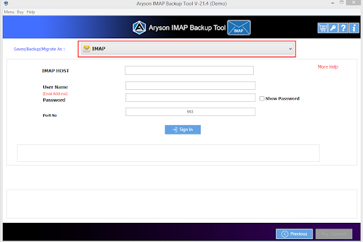 IMAP to IMAP Converter step-4