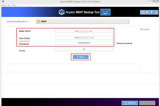 IMAP to IMAP Converter step-5