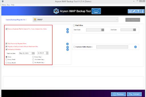 IMAP to IMAP Converter step-6