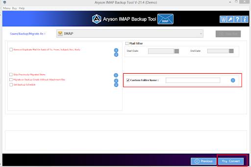 IMAP to IMAP Converter step-8