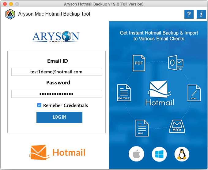 Mac hotmail extractor step-1