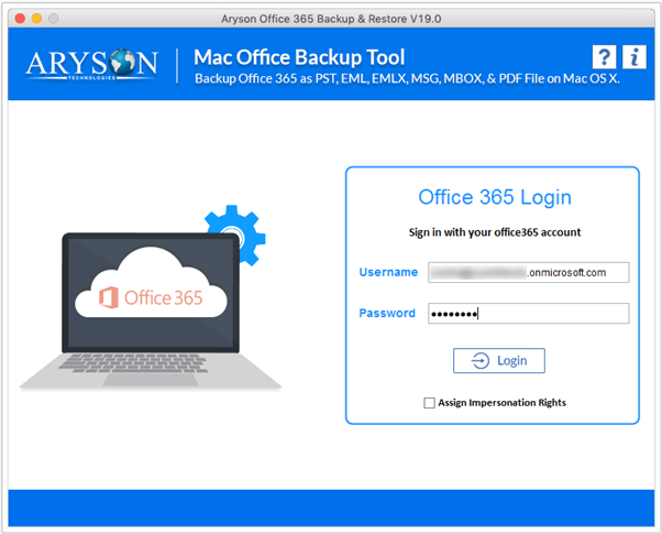 office 365 Backup step-2