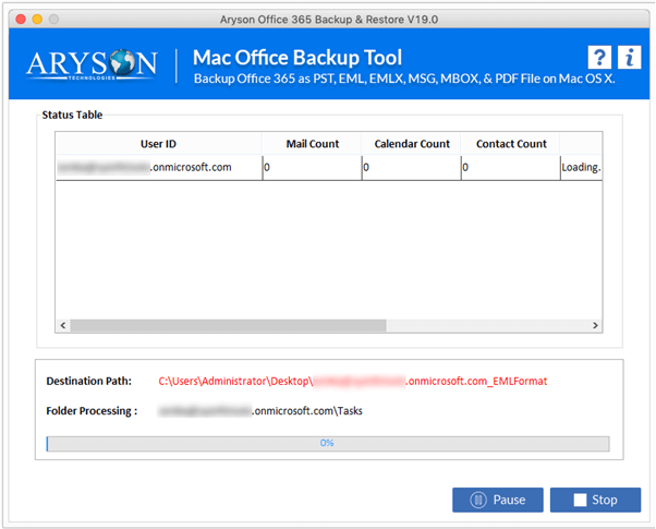 office 365 Backup step-5