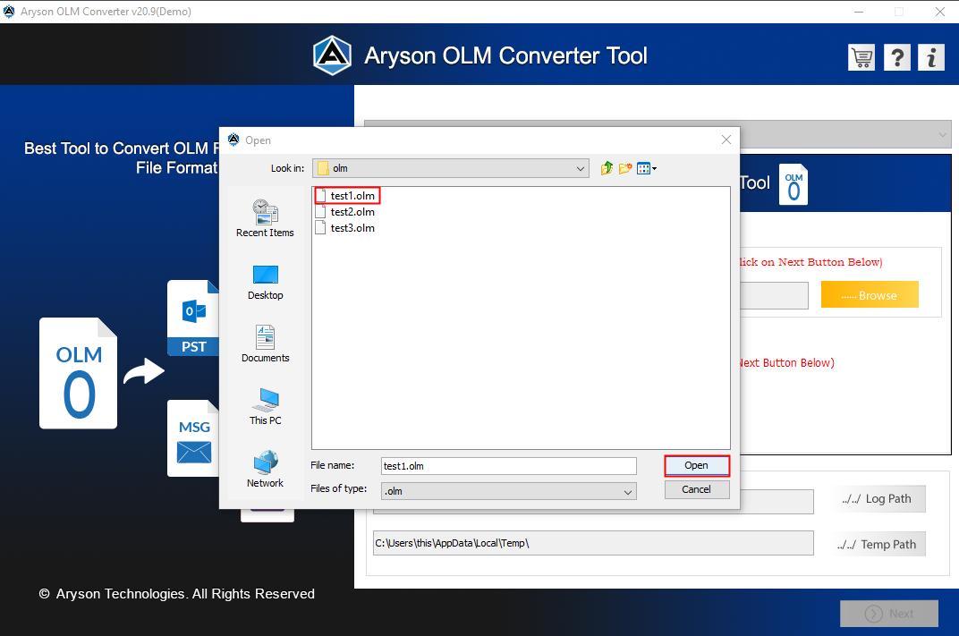 OLM converter step2