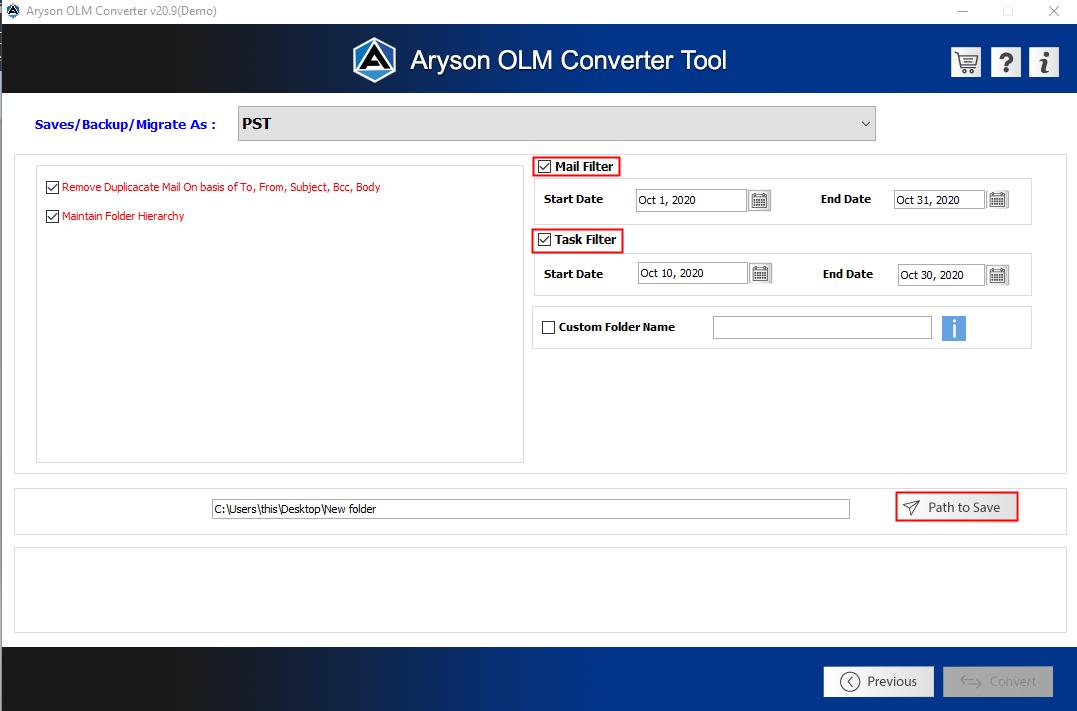 OLM converter step5