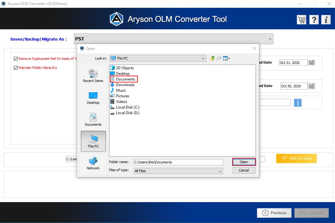 OLM converter step6