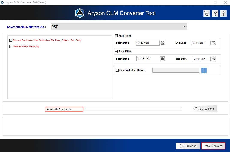 OLM converter step7