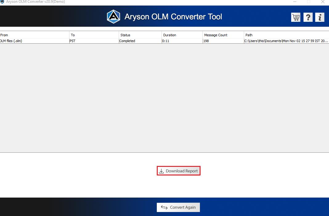 OLM converter step8