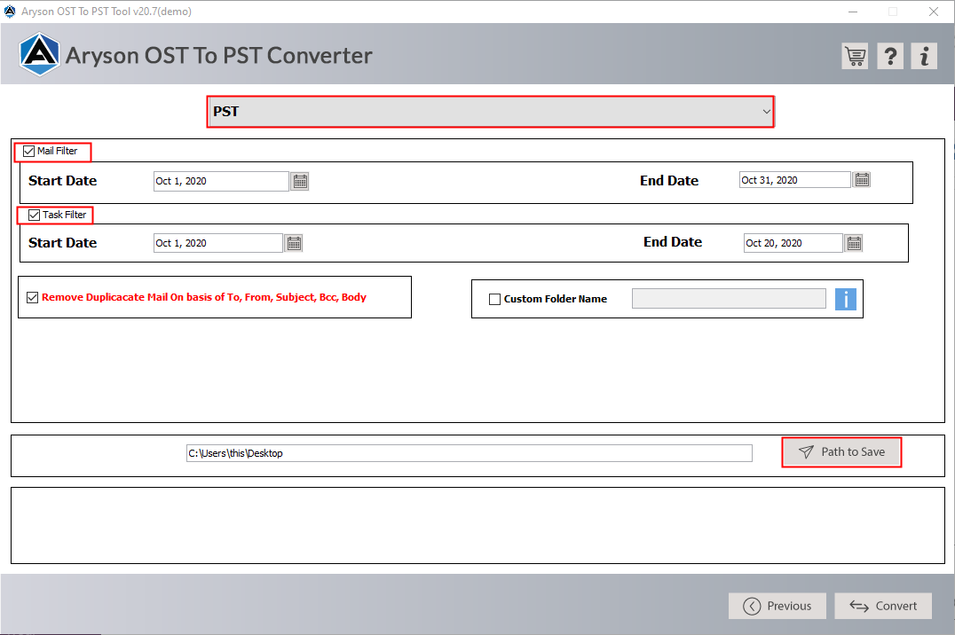 convert ost to pst