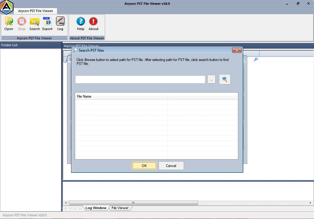 Select and Open MBOX File from Browse Option.